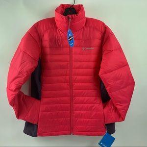 Columbia Pink Powder Pillow Hybriid Jacket Size M